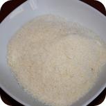 Käse für Rucola Pesto