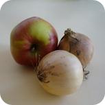Apfel & Zwiebeln