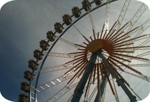 Riesenrad auf der Wiesn