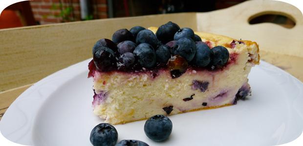 Heidelbeer-Käse-Kuchen