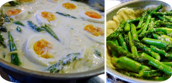 Quiche mit Spargel und Ei