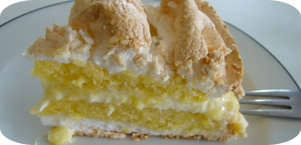 Lemon Meringue Cake Zitronen Baiser Kuchen Kochend Heiss De