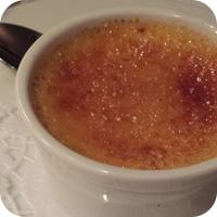 Last Supper - Creme brulee