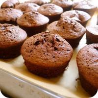 Cupcakes Schoko Rührteig