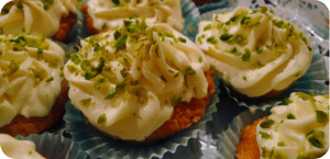 Limette-Mascarpone-Cupcakes
