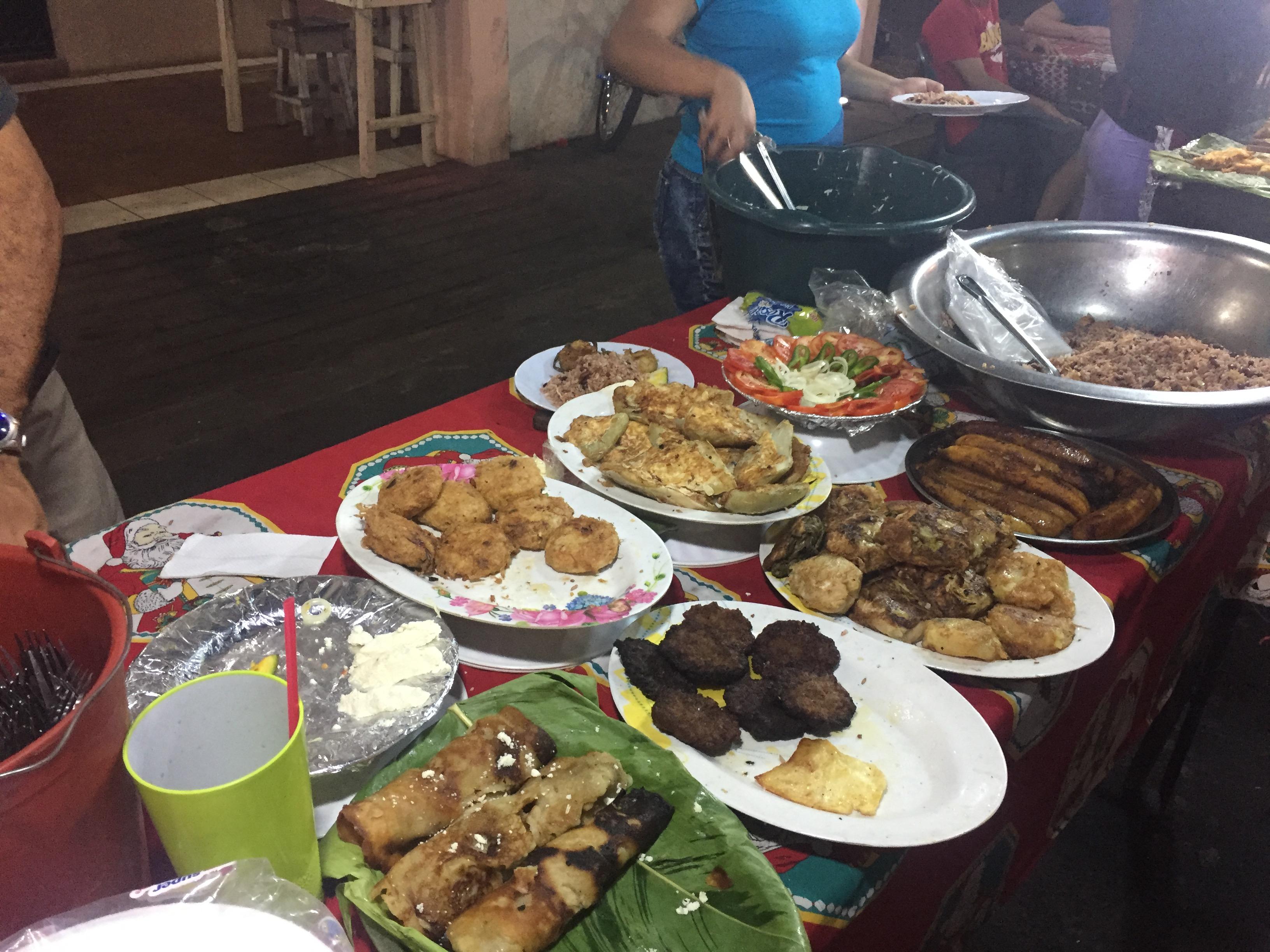 Streetfood in Nicaragua