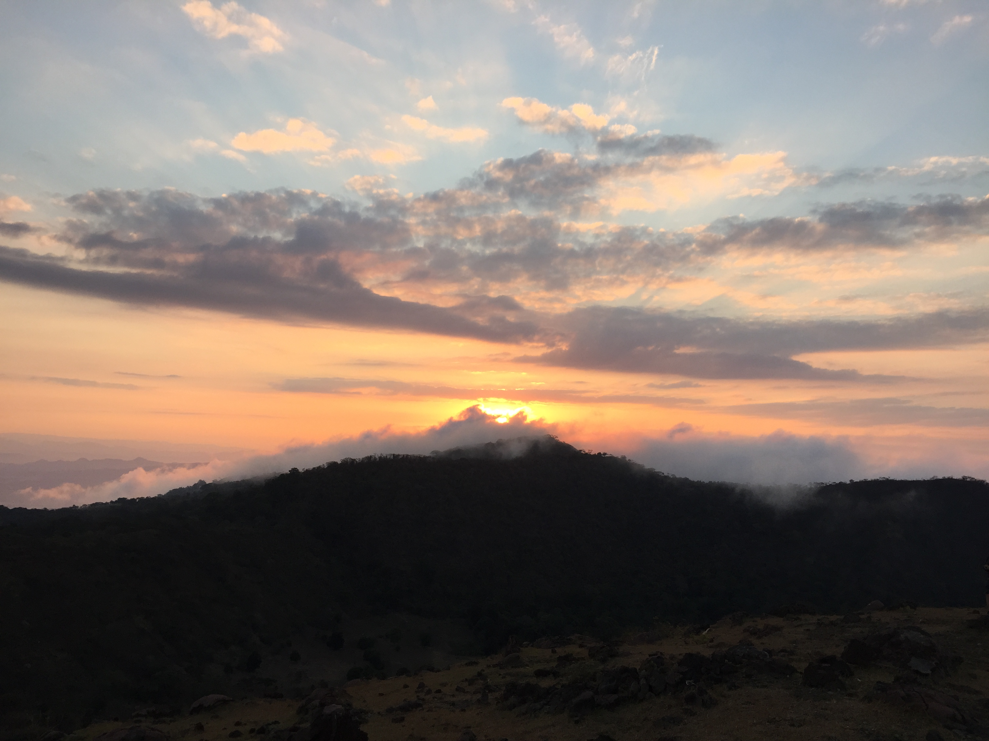 Vulkanlandschaft Telica