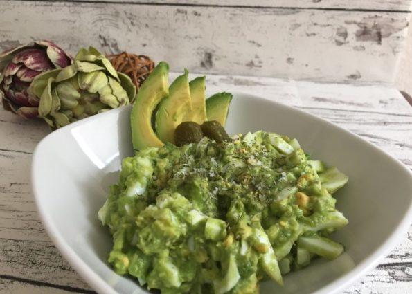 Eier Avocado Salat