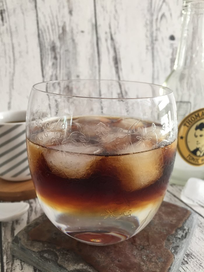 Gin and Coffee Longdrink