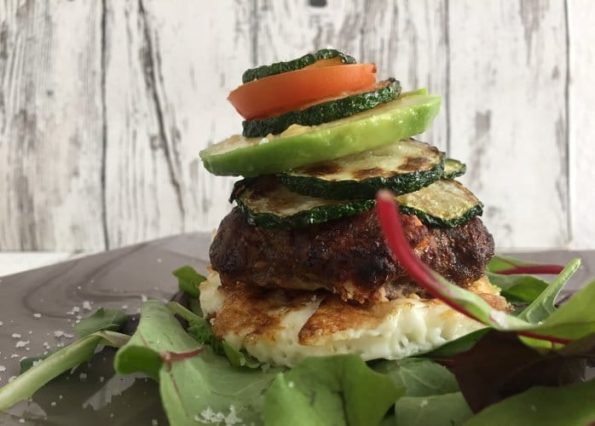 Low Carb Burger - Burger ohne Brötchen