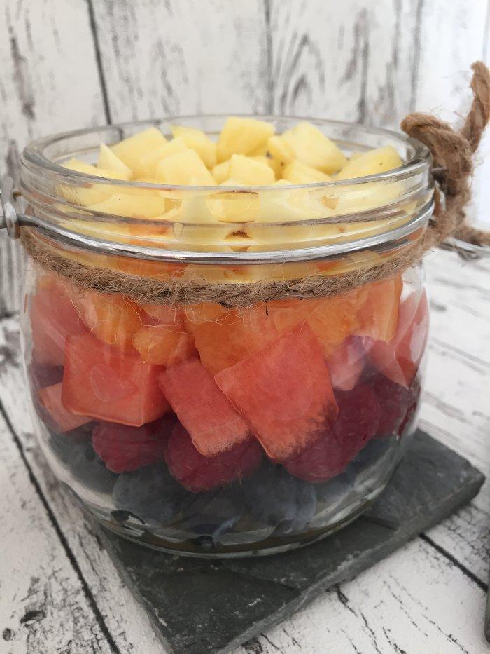 Sommerlicher Fruchtsalat - Rainbow Fruits