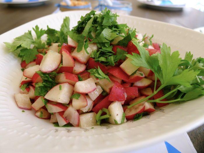 Radieschensalat zum Oktoberfet