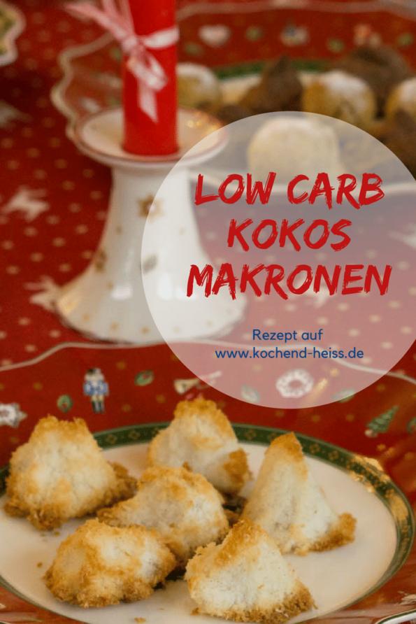 Low Carb Kokosmakronen