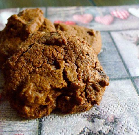 Schokoladen Kekse mit Schokostückchen