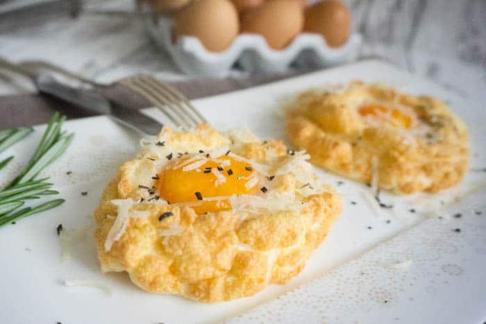 Cloud Eggs Frühstückseier