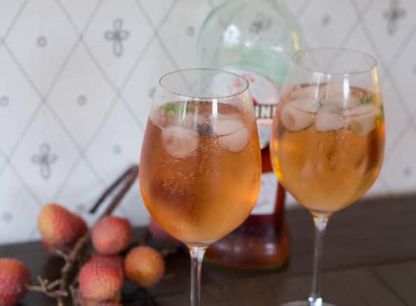 Portofino Sprizz (Sekt, Ginger Ale & Martini)
