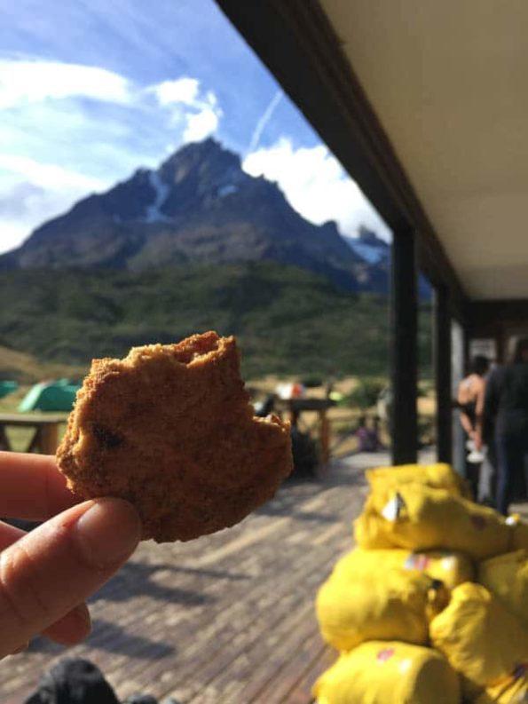 Essen im Torres del Paine