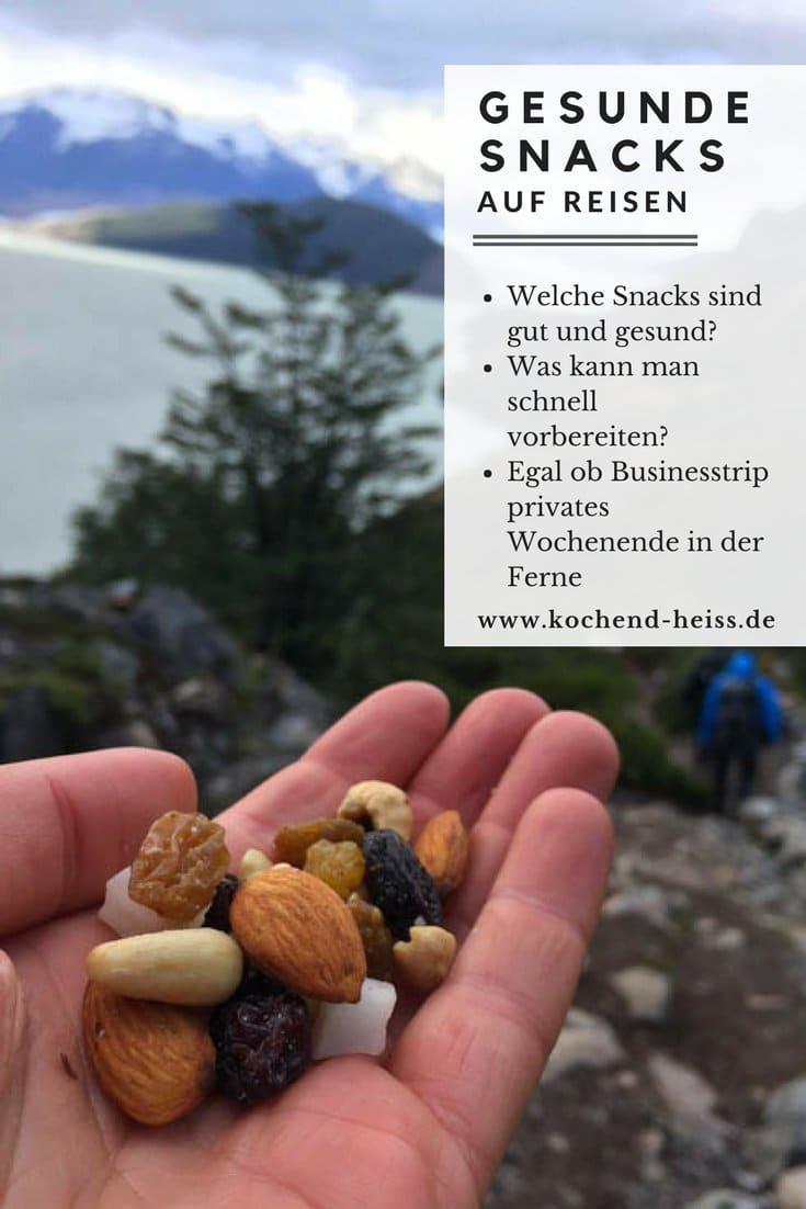 Gesunde Snacks auf Reisen