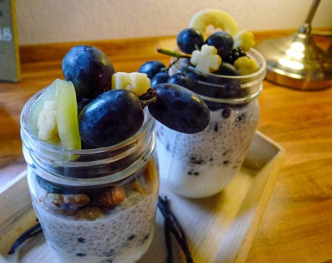 Chia Quark mit Joghurt