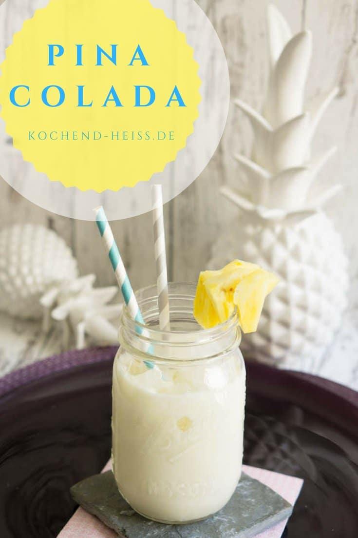 Pina Colada - karibischer Cocktail