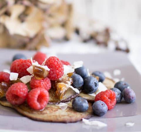Pancakes mit nur 2 Zutaten - Ei & Banane