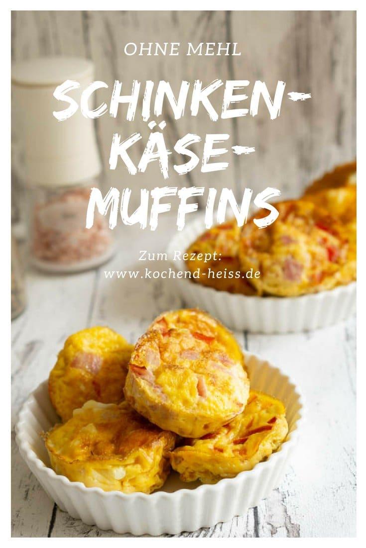 Eier Muffins mit Schinken & Käse