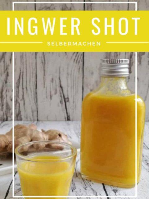 Rezept: Ingwer Shot selber machen