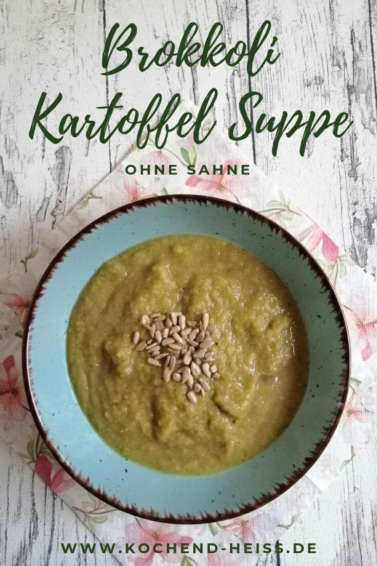 Brokkoli Kartoffel Suppe Pinterest