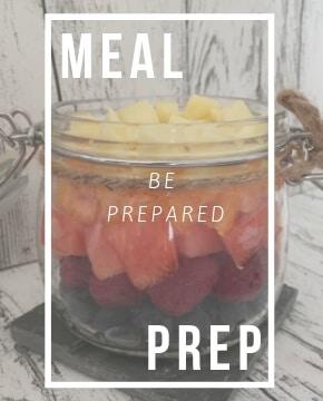 Meal Prep_Vorbereitung von Lebensmitteln