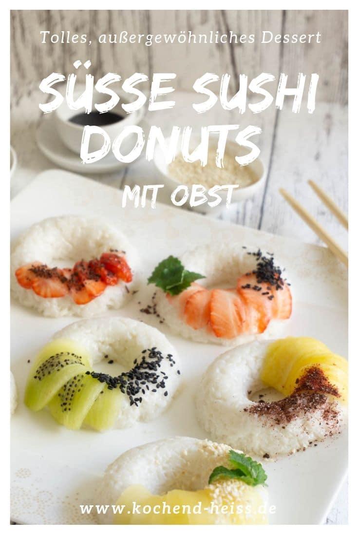 Süße Sushi Donuts