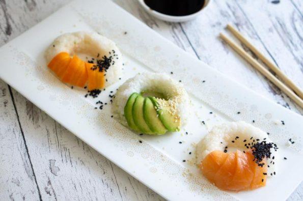 Sushi Donuts DIY - Herzhaft mit Lachs und Avocado