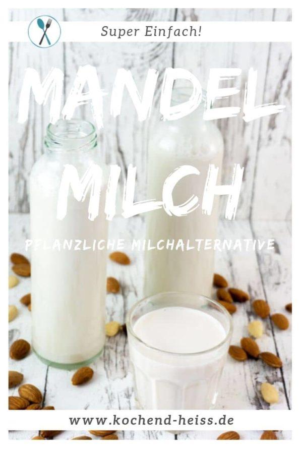 Mandelmilch ohne Zucker