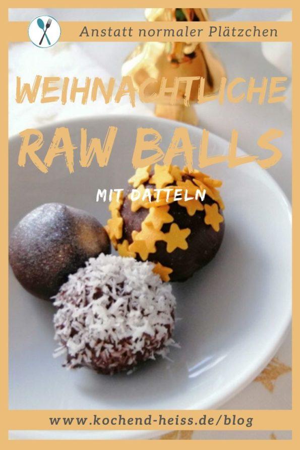 Weihnachtliche Raw Balls_Pinterest
