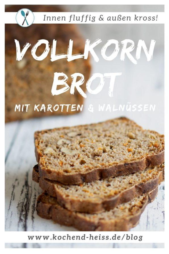 Dinkelbrot mit Walnüssen und Karotten (Vollkorn)_Pinterest