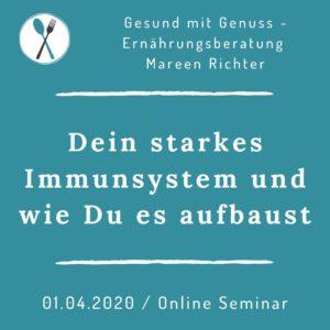 Dein starkes Immunsystem und wie Du es aufbaust