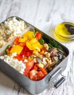 Kostenfreier Meal Prep Plan