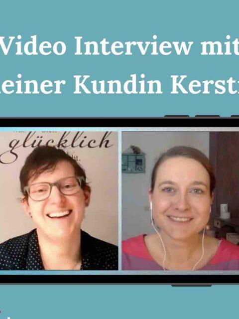 Regelmäßig essen lernen und dabei abnehmen – Interview mit meiner Kundin Kerstin