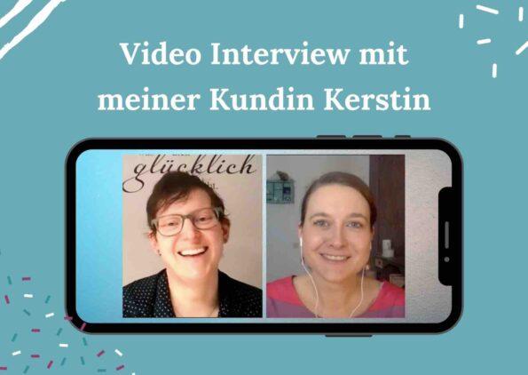 Regelmäßig essen lernen und dabei abnehmen - Interview mit meiner Kundin Kerstin