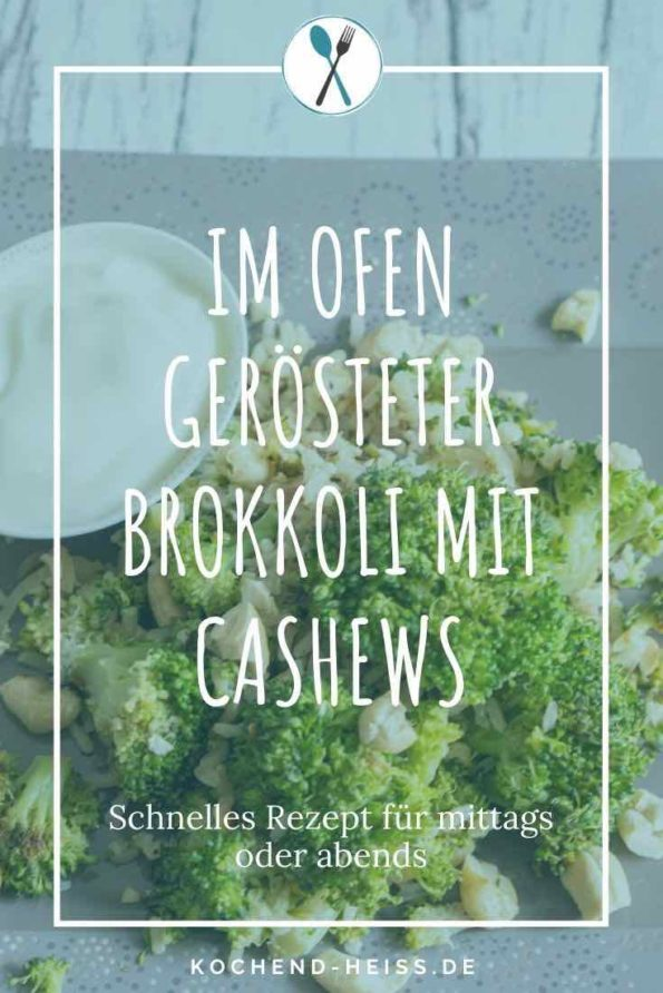 Im Ofen gerösteter Brokkoli