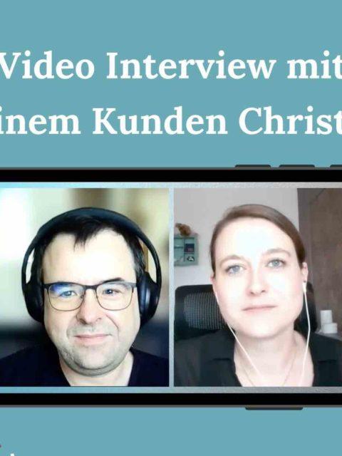 Ernährungsberatung online – Interview mit meinem Kunden Christian