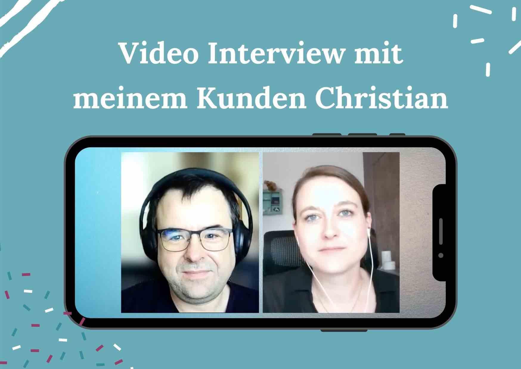 Ernährungsberatung online - Interview mit meinem Kunden Christian